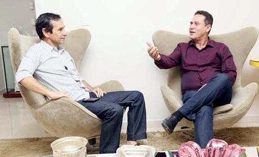 Marcelino Tenório incentivado por Maurao de Carvalho a ser candidato a prefeito de Ouro Preto do Oeste