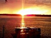 por do sol rio madeira pvh Foto de Amanda Cabral