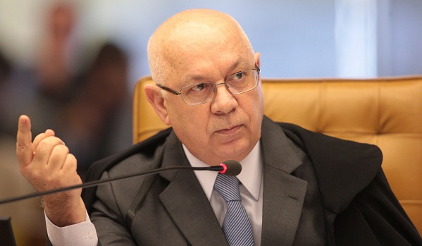 Ministro Teori Zavascki nega pedido de Cunha_ Foto - Arquivo ABr