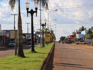 Vale do Anari_RO Avenida principal. Foto Hugo Rodrigues