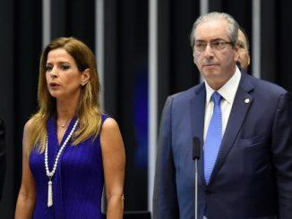 Cláudia Cruz e Eduardo Cunha