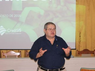 Gilberto Borgio está a frente do sistema CrediSIS há 20 anos