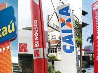 Agências bancárias abrem até a próxima quinta