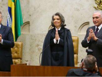 Posse da nova presidente do Supremo Tribunal Federal (STF), ministra Cármen LúciaWilson Dias/Agência Brasil
