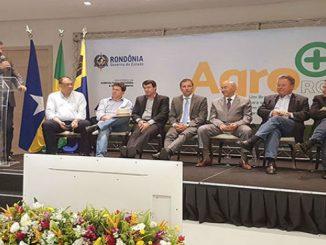 Ministro Blairo Maggi esteve em Rondônia para lançar o Plano Agro + do governo federal