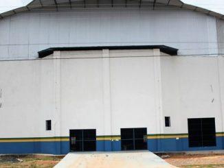 Ginásio Poliesportivo Raimundo Eleoneldes dos Santos, que há cerca de dois anos estava fechado e a emenda do senador Acir Gurgacz (PDT-RO) muda essa realidad