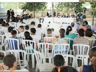 A próxima sessão itinerante será realizada na Escola Estadual Tupã, a partir das 9 horas