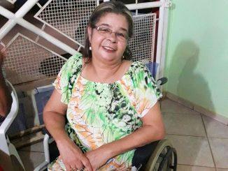 Maria José Vieira da Silva, 61, que é viúva do soldado da PM Alcides Carteiro Guerra, assassinado há 25 anos. Foto: Gisele Vaz