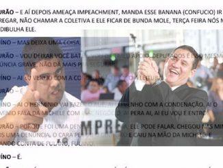 Presidente da Assembleia Legislativa de Rondônia, Maurão de Carvalho (MDB), e ao militar e deputado estadual Jesuíno Boabaid (MDB) seriam as vozes da gravação que revela bastidores dos podres poderes.