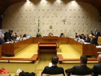 Sessão plenária do STF para julgar o habeas corpus do ex-ministro Antonio Palocci. Valter Campanato/Agência Brasil