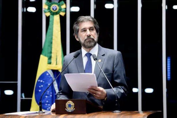 O senador Valdir Raupp (PMDB-RO) em sessão do Senado (Foto: Jefferson Rudy/Agência Senado)