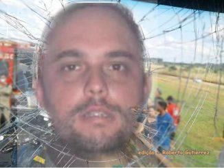 Willians Maciel Dias, suspeito de matar caminhoneiro José Batistela à pedrada.