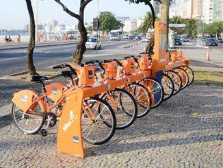 No Rio de Janeiro existe o projeto Eu vou de Bike, no qual as bicicletas são compartilhadas.