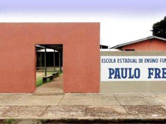 Única zeladora do Paulo Freire entrou de férias e Seduc não mandou substituta.