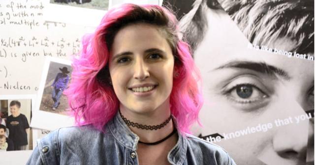 Formada em Matemática pela USP, em São Paulo, Júlia Jaccoud tem canal de divulgação científica no YouTube – Foto: Denise Casati