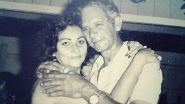 Agenor e dona Gladys em 1971 em uma festa no clube do Incra, que na época era tocado por este casal.