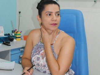 Secretária de Educação de Ji-Paraná Leiva Custódio Pereira.