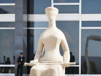 Estátua da Justiça em frente ao Supremo Tribunal Federal - José Cruz/Arquivo Agência Brasil