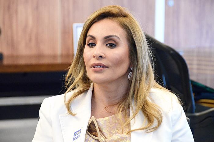 Juíza Ana Valéria Zipparro, idealizadora da campanha Declare Seu Amor.