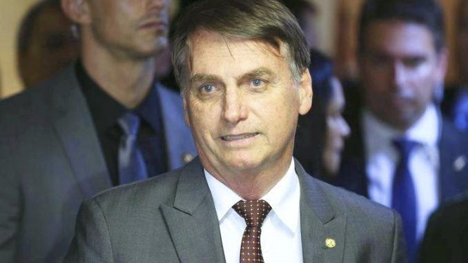 O presidente eleito Jair Bolsonaro - Valter Campanato/Arquivo Agência Brasil