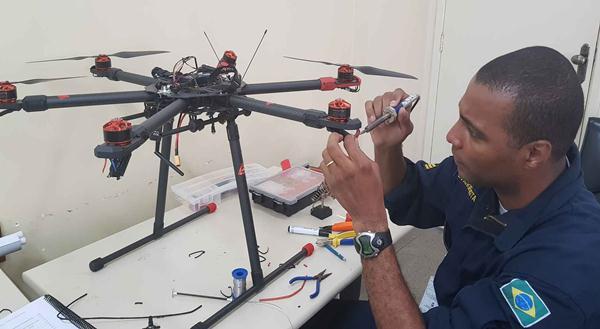 Técnico em drones é uma das profissões em alta.