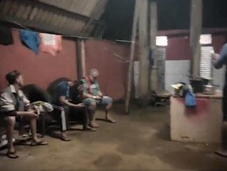 que se negaram a dizer quem gravou as imagens sobre a péssimas condições oferecidas aos mais de 150 fusionários da transportadora. Foto: Reprodução do Vídeo.