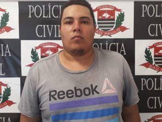 Geovani da Silva Magalhães se apresentou à polícia no dia seguinte e ficou preso porque havia um mandado de prisão contra ele.