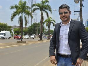 Thiago Floresé prefeito da cidade de Ariquemes, interior de Rondônia.