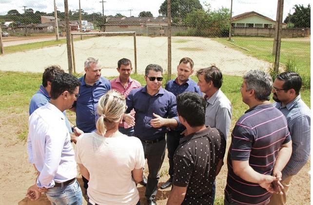Marcos Rogério libera recurso para construção de uma UBS em Ouro Preto do Oeste. Foto - Edmilson Rodrigues