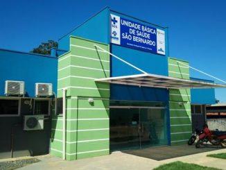 A Unidade Básica de Saúde fica no bairro São Bernardo e custou R$ 660 mil.