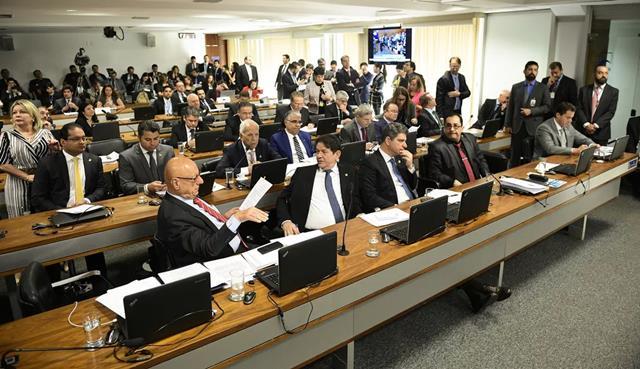 Voto em separado apresentado por Marcos Rogério buscava manter texto apresentado pelo presidente Jair Bolsonaro. Pedro França/Agência Senado
