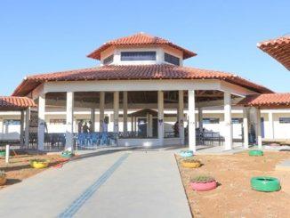 A Escola foi construída com recursos do Fundo Nacional de Desenvolvimento da Educação, FNDE no valor de R$ 840.446,19 mil. A prefeitura entrou com R$ 361.230,60. Foto: Jota Batista.