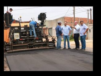 As obras foram vistoriadas pelo prefeito Marcito Pinto (PDT), em companhia do presidente da Câmara dos Vereadores, Affonso Cândido (DEM), do vereador Lorenil Gomes e do secretário de Obras, Cleberson Littig.