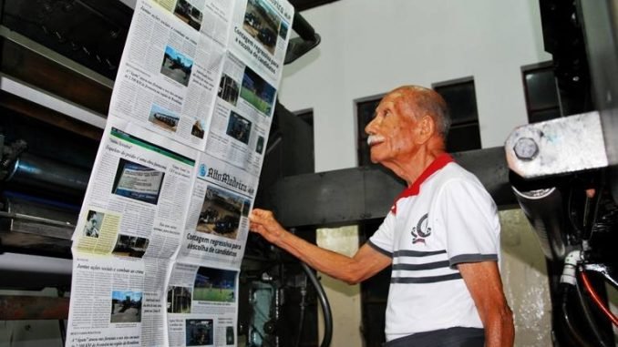 Morre aos 97 anos jornalista Euro Tourinho