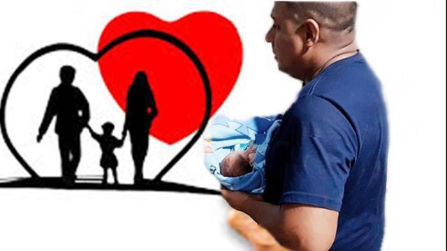 Vai à adoção bebê arrancado da barriga da mãe