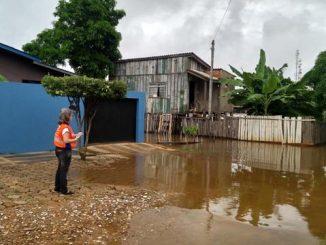 Defesa Civil monitora bairros em risco de enchente