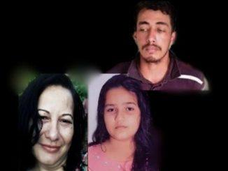Preso monstro que decapitou menina 11 anos e matou a mãe dela