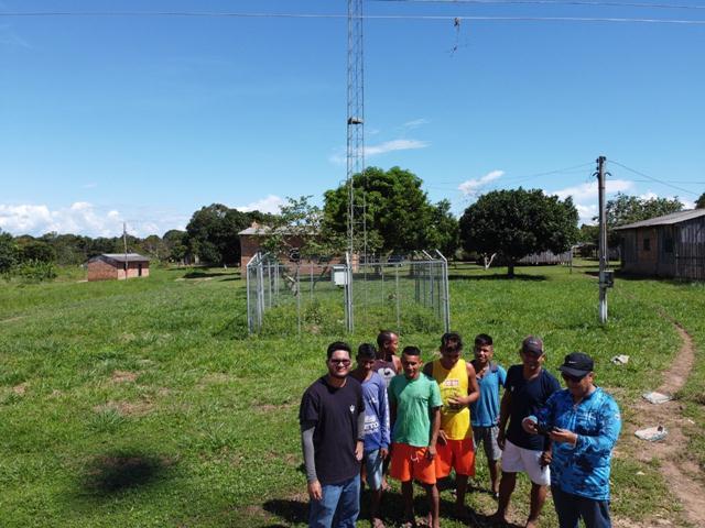 Indígenas e ribeirinhos de Rondônia agora com internet e telefonia móvel