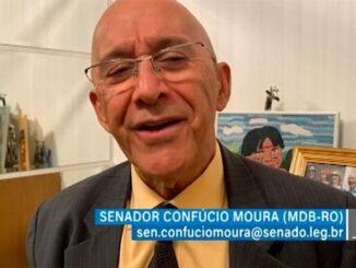 Confúcio Moura pede universalização da internet de alta qualidade