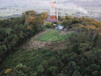 Quede de árvore deixa Ouro Preto/RO sem sinal da TV Ji-Paraná