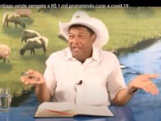 Valdemiro Santiago vende semente a R$ 1 mil prometendo curar a covid-19