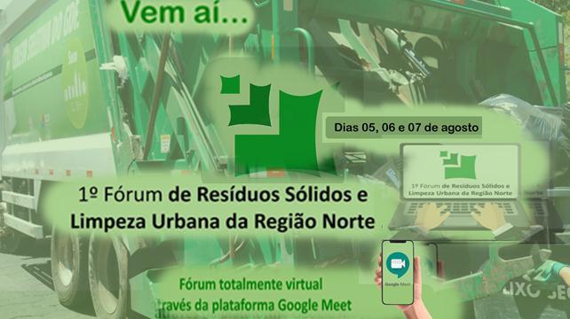 Ji-Paraná promove 1º Fórum sobre Resíduos Sólidos e Limpeza Urbana da Região Norte