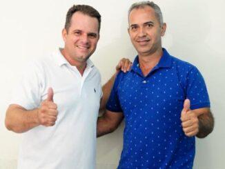 Ranieri Fabris (DEM) e Osmar da Idaron