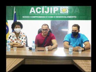 Acijip e CDL empenham apoio a Affonso Cândido