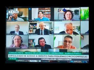 Comissão da Covid-19, com apoio do Sebrae, irá buscar projetos para atender microempreendedores, afirma Confúcio