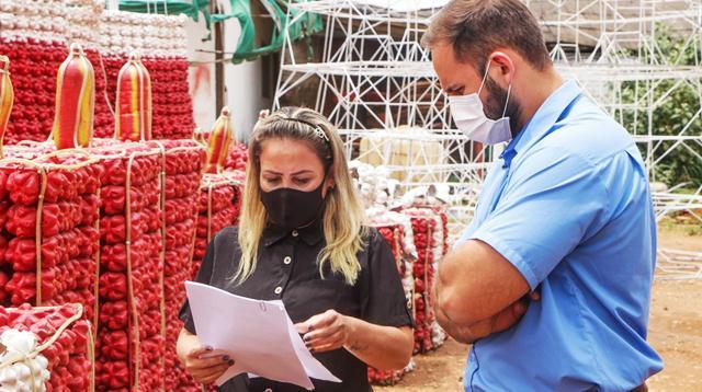 Decoração natalina será acionada antes do aniversário de Ji-Paraná