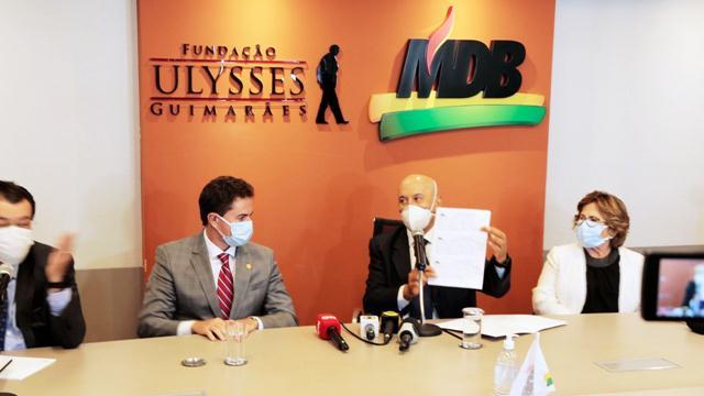 MDB amplia ainda mais como maior bancada do Senado