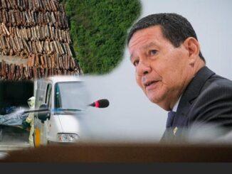 Mourão camufla desmatamento e omite covid-19 ao debater Amazônia