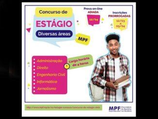 MPF estágio Rondônia Inscrição