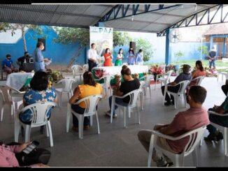 Lançando Programa de Aquisição de Alimentos 2021 em Ji-Paraná